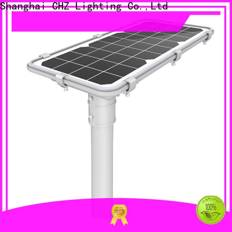 CHZ solar led street light with good price bulk production