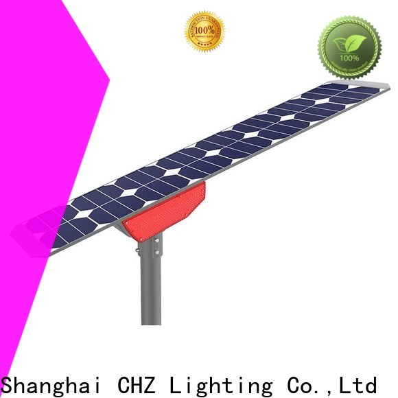 CHZ outdoor solar street lamps inquire now for engineering
