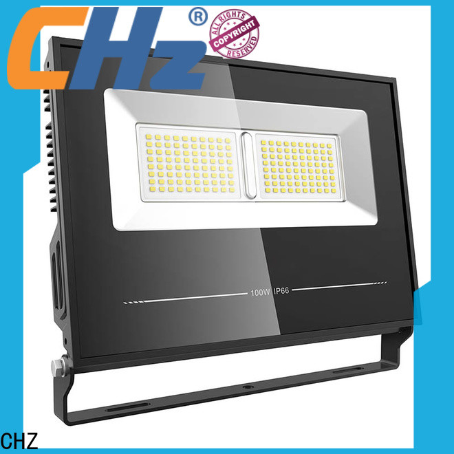 CHZ top led floodlights manufacturer for building facade and public corridor