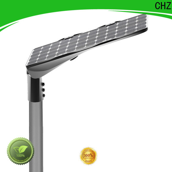 CHZ solar street lighting company for mountainous