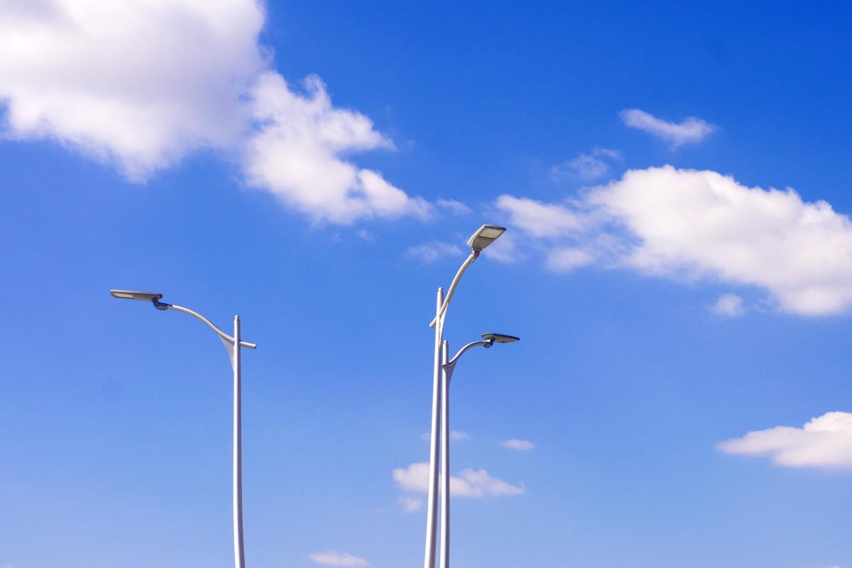 CHZ smart street lights
