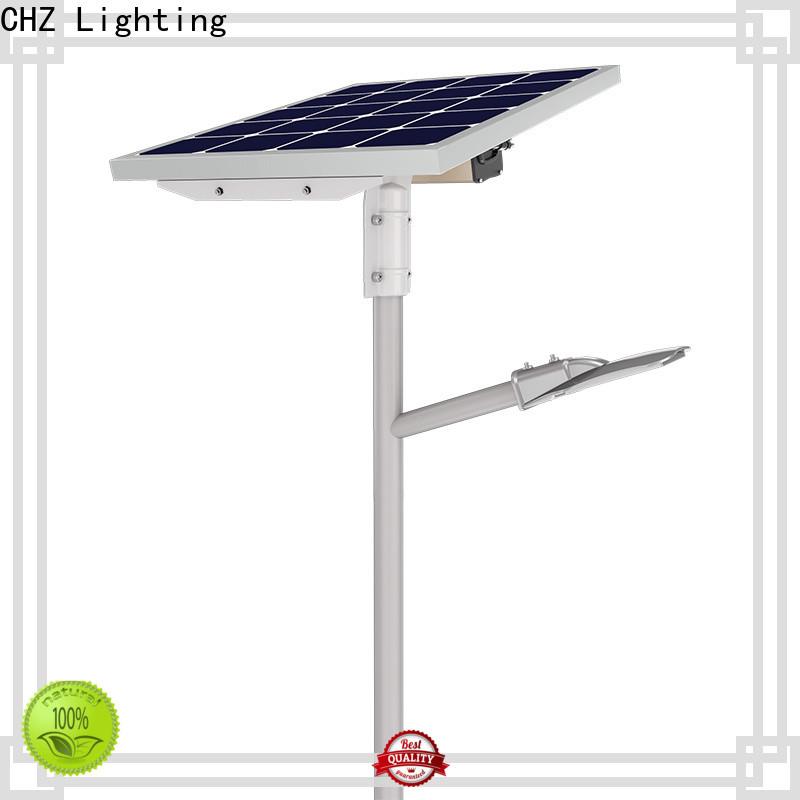 CHZ solar powered street lighting best supplier for road