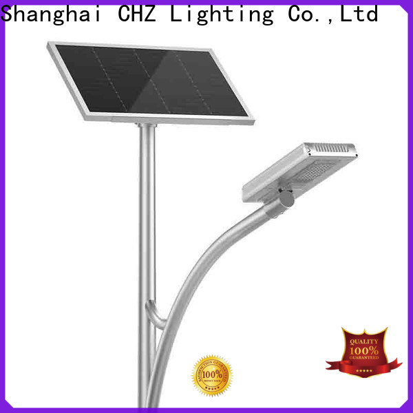 certificated outdoor solar led street light suppliers for promotion