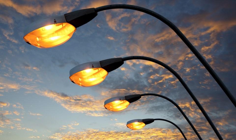 City's LED street lamps  -  CHZ