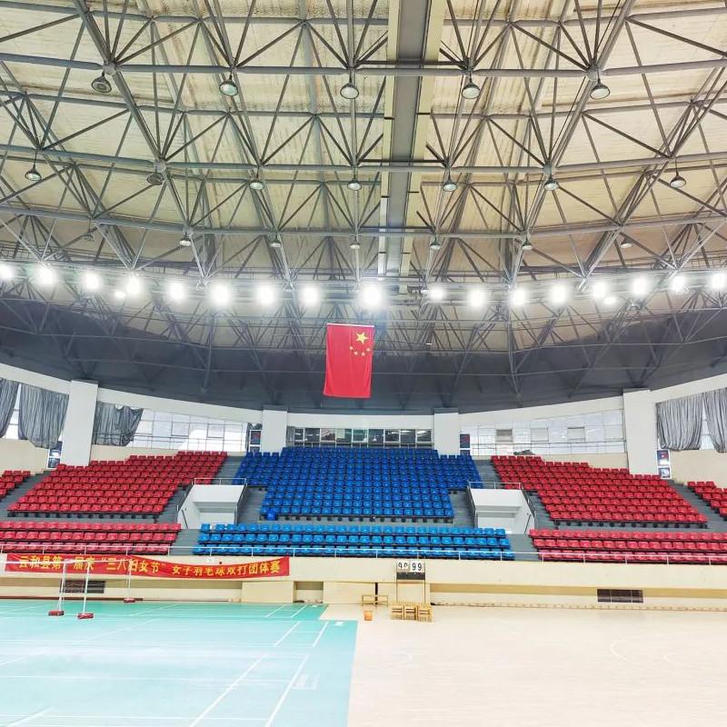 Projeto de renovação de iluminação do estádio do ginásio de Haiyan County em Zhejiang
