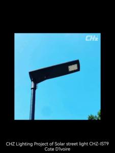 Professional solar energy led street lighting project manufacturers- CHZ-IST9 solar street light