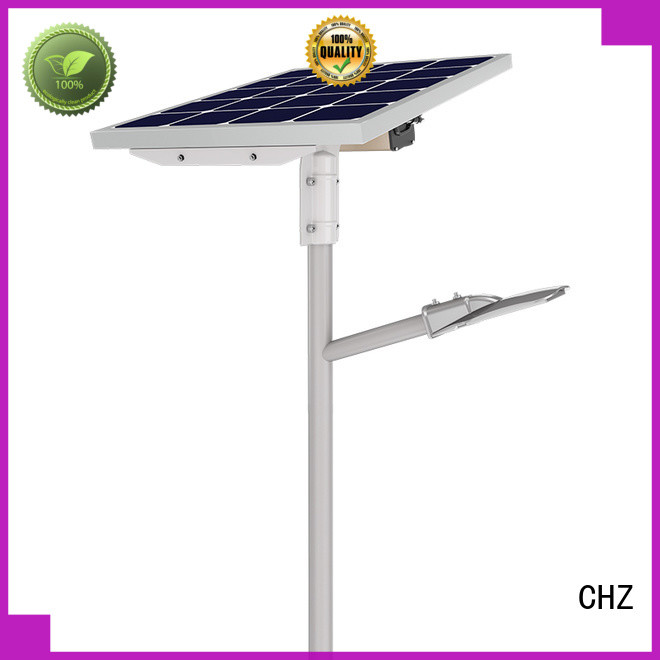 CHZ solar street light price list directly sale for road