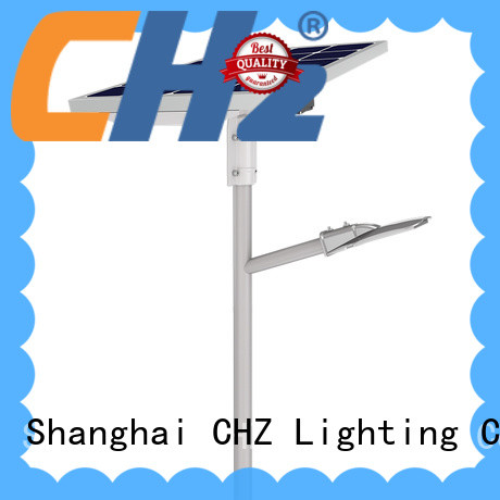 CHZ long lasting outdoor solar street lighting series for remote area