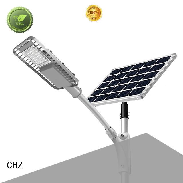 CHZ solar powered led street lights custom design school