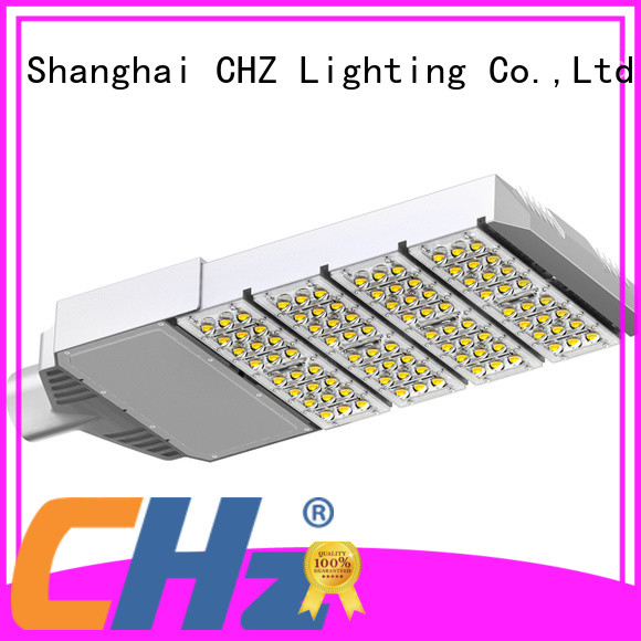 CHZ high quality led street light manufacturers yard