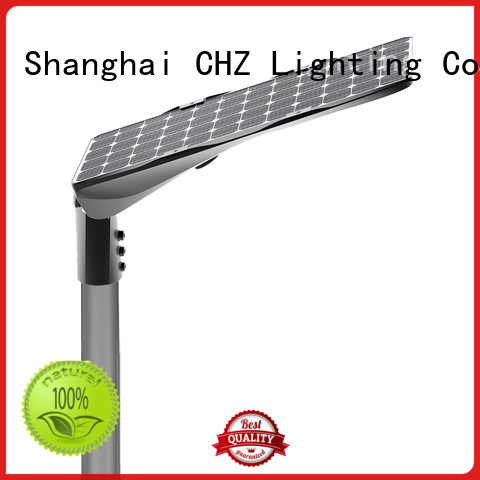 CHZ led street light solar powered factory direct supply bulk production