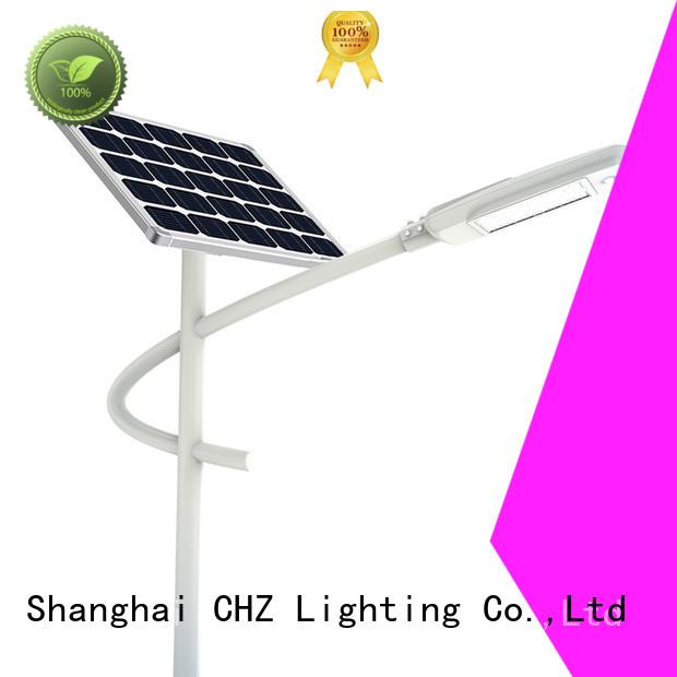 CHZ efficient outdoor solar street lights best manufacturer bulk buy