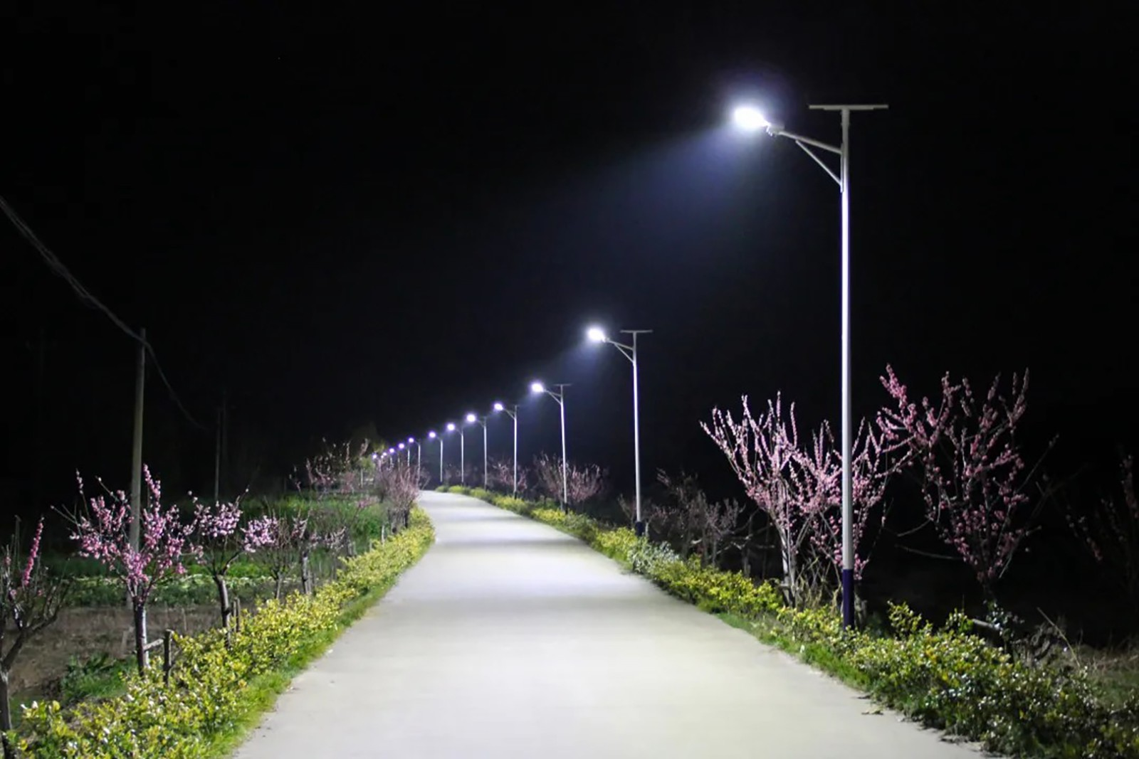 Chz Lighting Helps Beautiful Village Lighting Project In South Taihu New