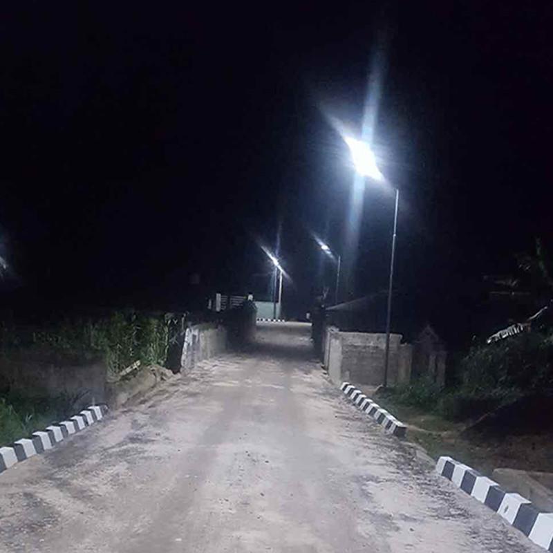Série IST2 Integrada luz solar luz ilumina a África