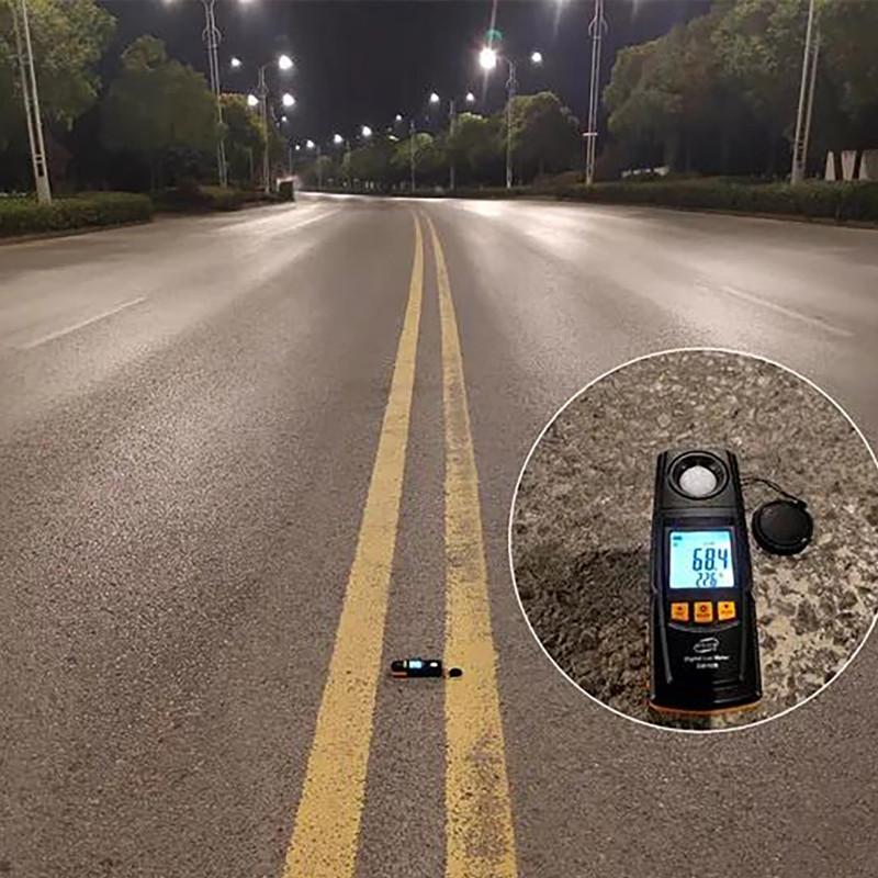 Renovação de luzes de rua LED luzes de iluminação em Jingzhou da Província de Hubei