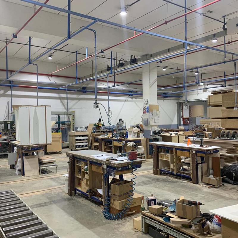 Chz Espanha completou outro projeto de substituição da lâmpada de plantas