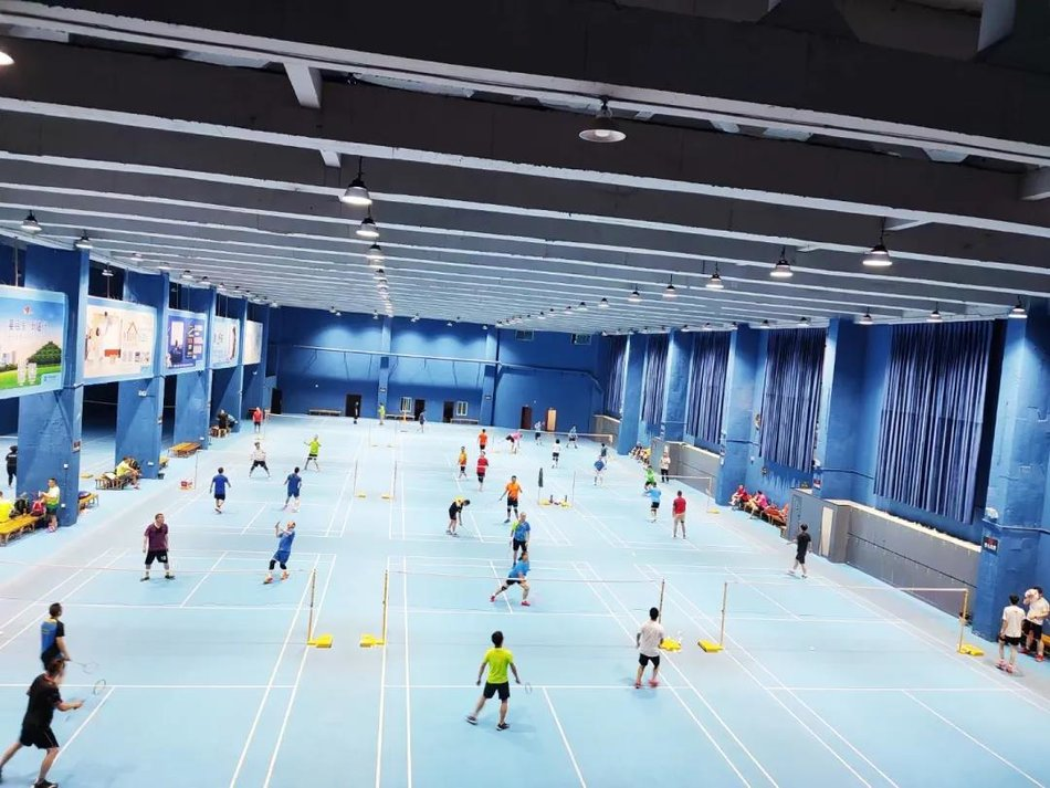 Renewing the true color of space   Lighting renovation plan for Sitong badminton hall in Huichuan district, Zunyi, Guizhou