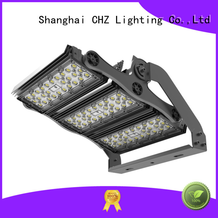 CHZ led sports field lighting fabrication indoor sports arenas