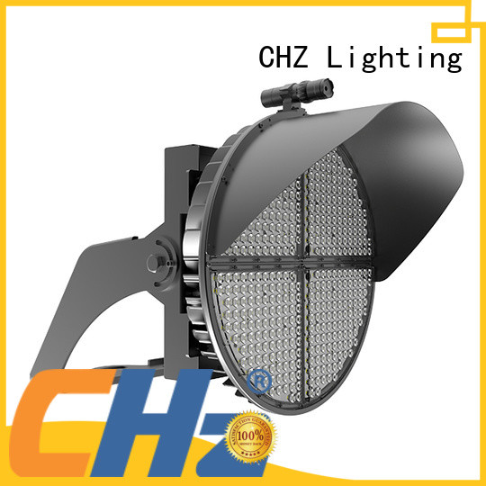 CHZ led stadium lighting supply for parking billboards