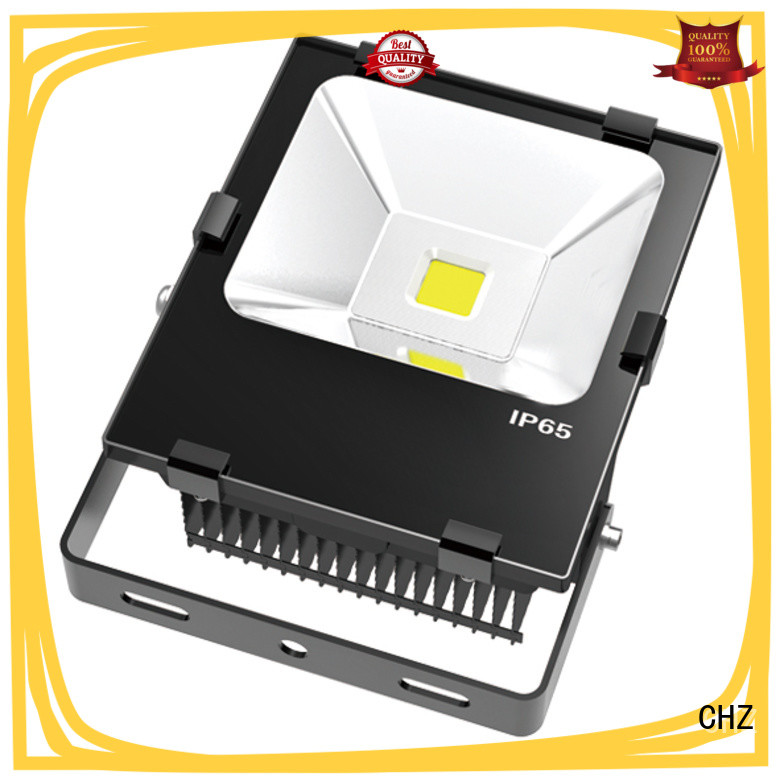 CHZ rohs approved outdoor flood lights maker national green lighting project