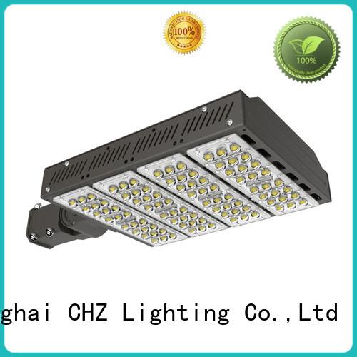China led street lighting luminairs manufacturers yard