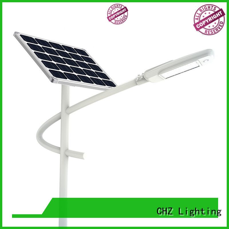 CHZ solar street lights for sale wholesale for promotion