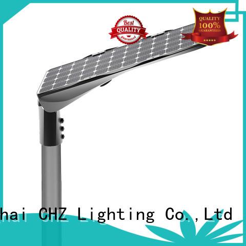 CHZ solar street lights for sale company bulk buy