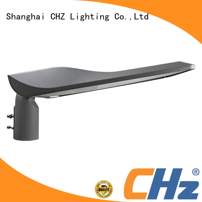 CHZ professional led street lights vs conventional company for parking lots