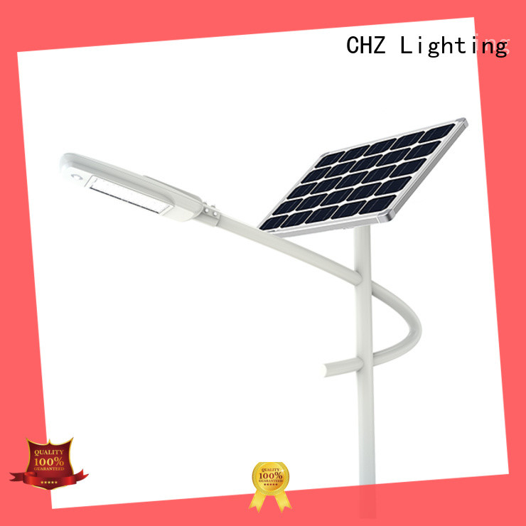 CHZ best solar street lights products streets