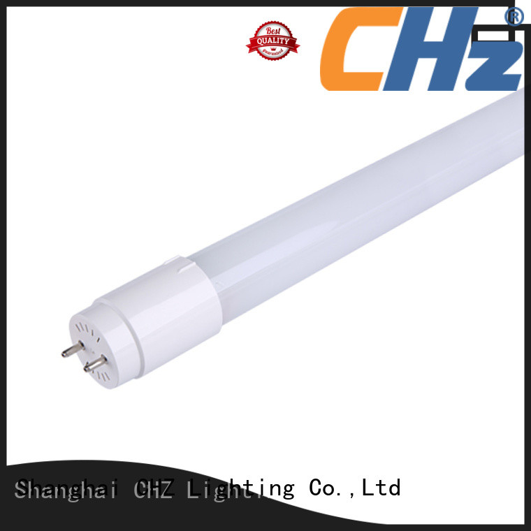 CHZ led tube light price list from China for shopping malls