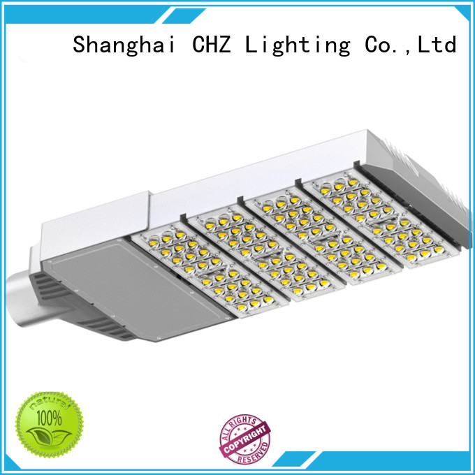 CHZ rohs approved street lighting fixtures directly sale for residential areas for road