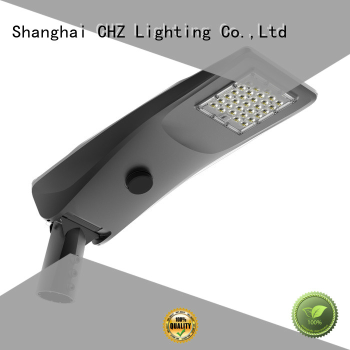 CHZ solar panel street light manufacturer park road