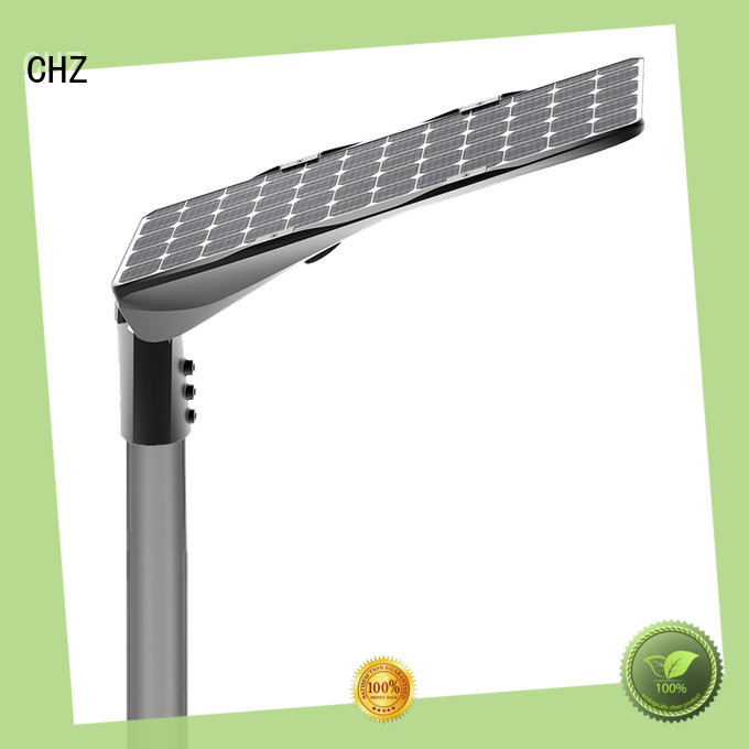 CHZ latest semi integrated solar street light best supplier for promotion