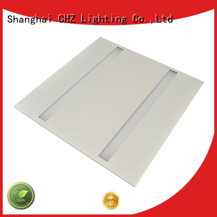CHZ aluminum alloy led flat panel light fabrication for clothing stores