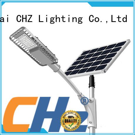 CHZ all in one solar led street light yard